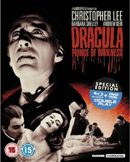 Edición en bluray de Dracula Prince of Darkness