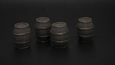 Barrels (Tabletop Art)