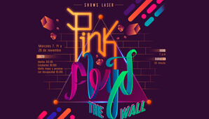 PINK FLOYD, The Wall en el Planetario de Bogotá