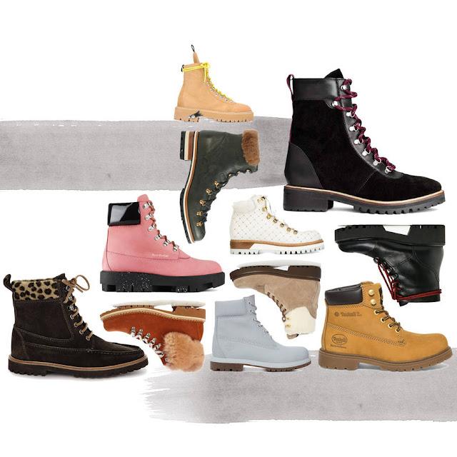 أحدث صيحات الموضة للأحذية الشتوية.
