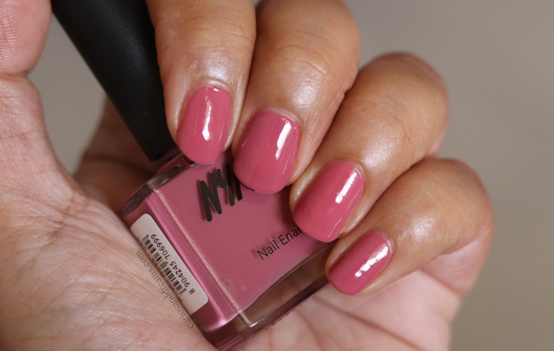 Nykaa Nail polish Rustic Rose review
