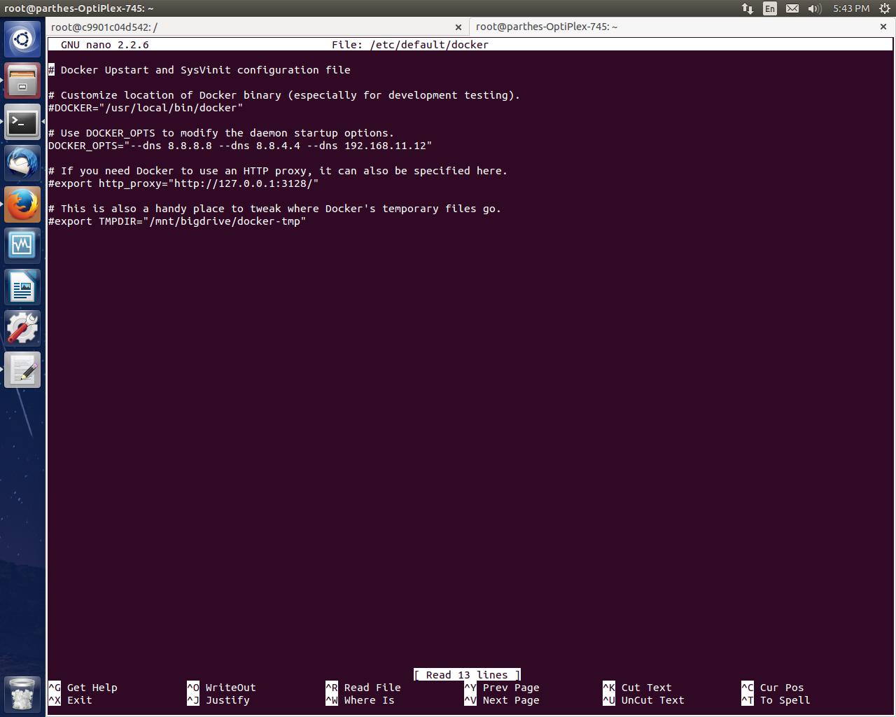 """Parekh Parthesh: Docker : """"Could not resolve 'archive ubuntu com"""