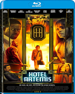Hotel Artemis 2018 BD25 Latino