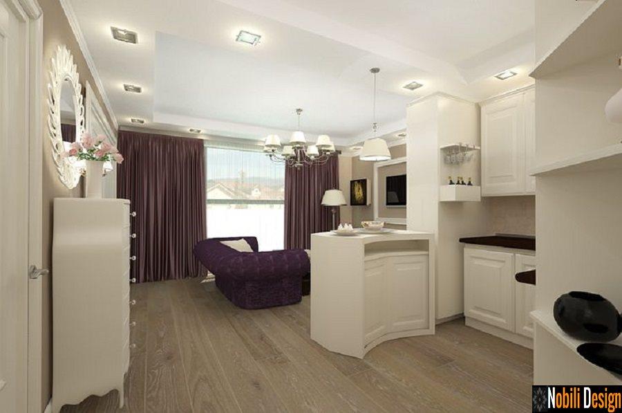 Design interior living open space stil clasic bucuresti for Design interior case