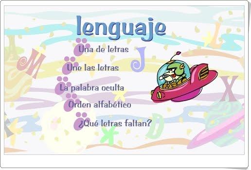 """Aprende con Frosti: """"Juegos de lectoescritura"""""""