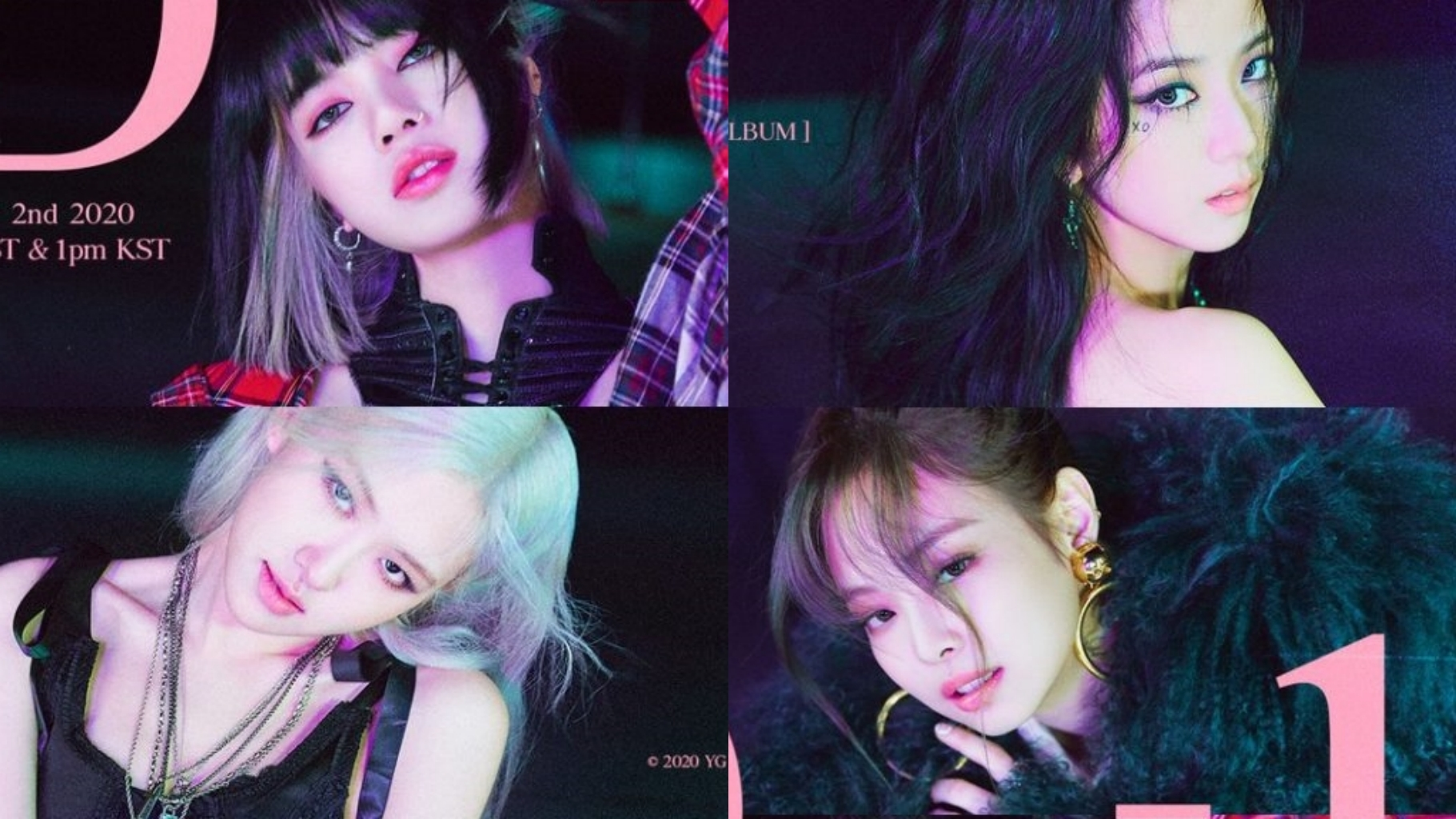 BLACKPINK Reveals D-1 Poster Before Comeback With 'THE ALBUM'
