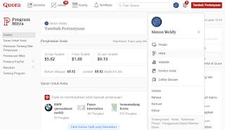 Cara Mendapatkan Uang dari Quora