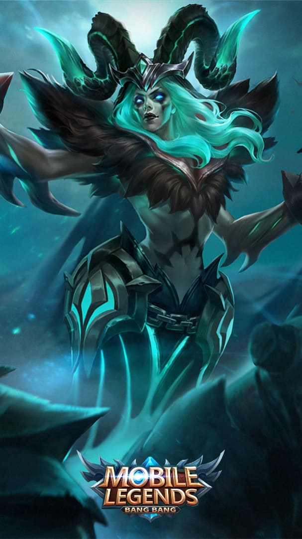 Wallpaper Vexana Twisted Summoner Skin Mobile Legends HD for Android and iOS
