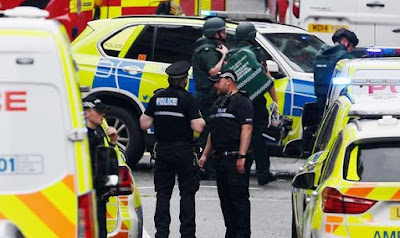 Police say Glasgow incident not being treated as terrorism