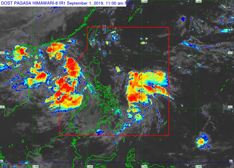 'Bagyong Liwayway' PAGASA weather update September 1, 2019