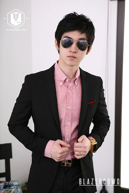 blazer cowok blazercowok.com jaket korean jas pria bk03 a