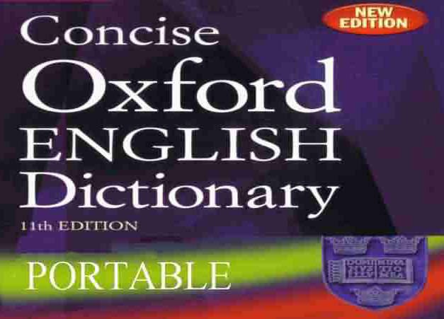concise oxford english dictionary 11th edition free download for pc