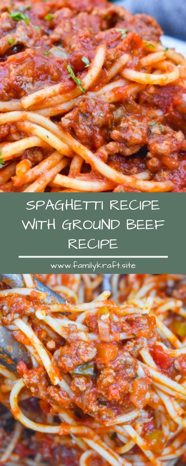 SPAGHETTI RECIPE WITH GROUND BEEF RECIPE