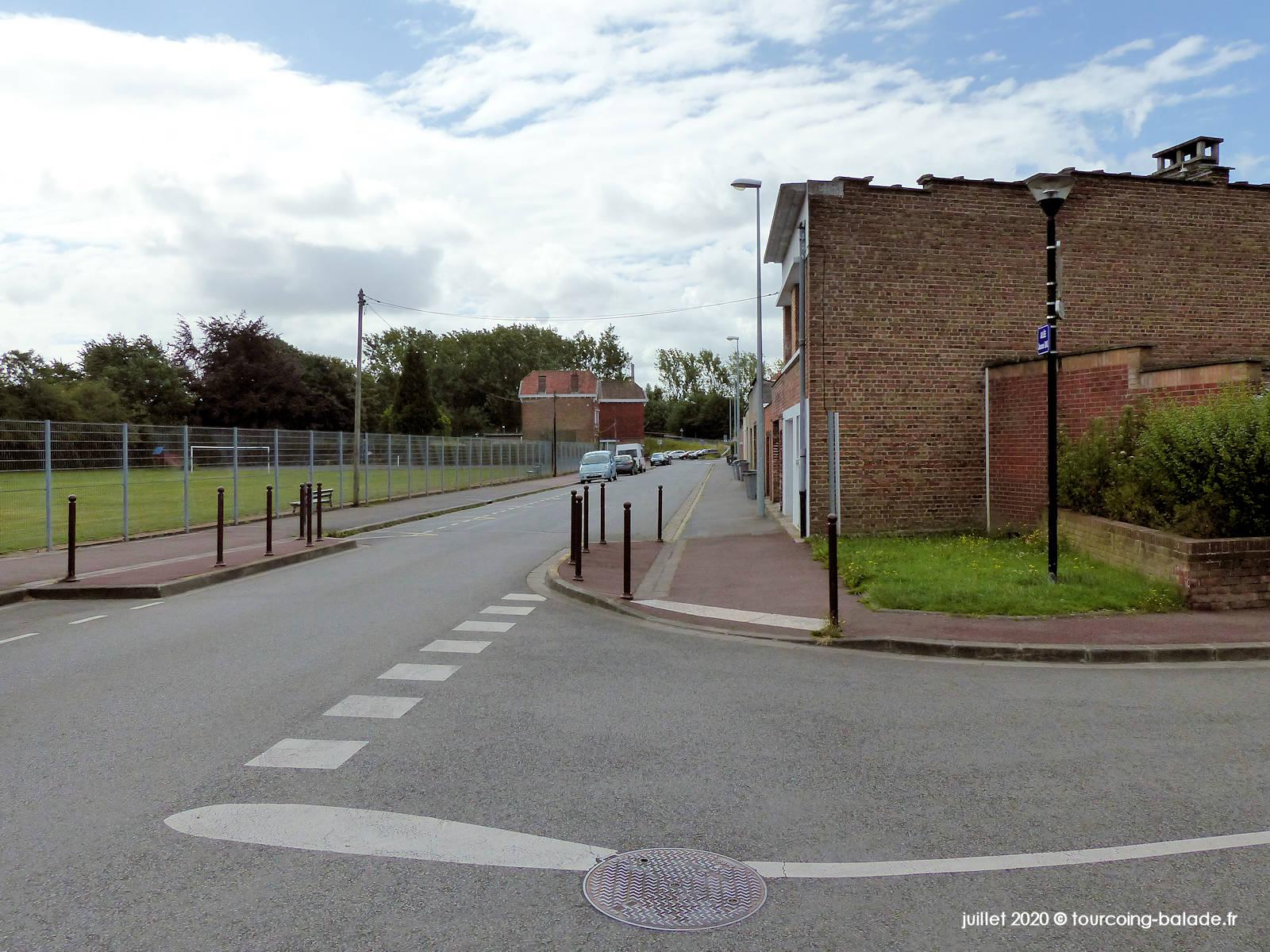 Rue Blaise Pascal, Tourcoing 2020