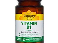Vitamin B1 - Kegunaan, Dosis, Efek Samping