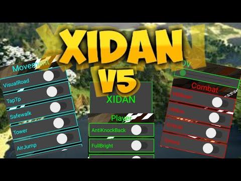 MCPE 1.11.x Xidan v5 Hitbox,Admin,Elevador Client Hilesi 2019