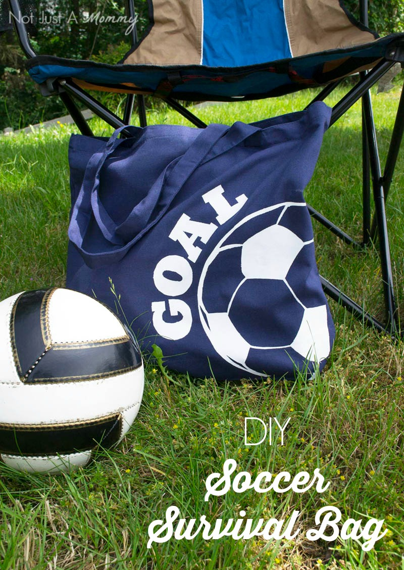 How to DIY a Soccer Survival Bag