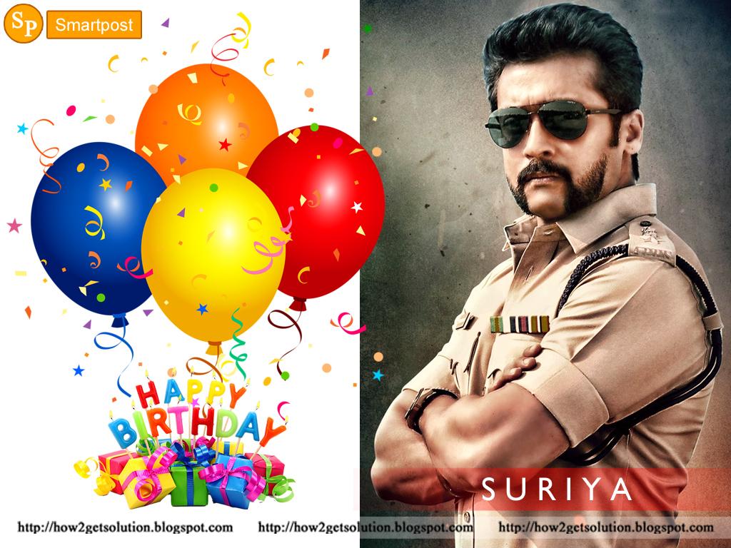 Smartpost: Wallpapers HD: Suriya Birthday Wishes Photos ...