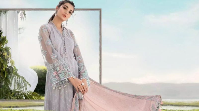 Maria B. Unstitched Sateen Fall Collection 2020