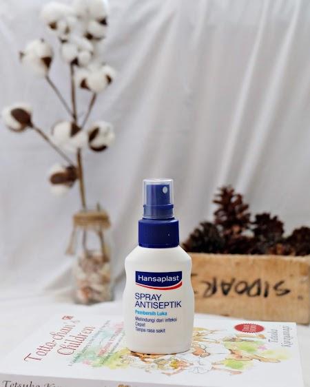 Hansaplast Spray Antiseptik; Cara Membersihkan Luka Gak Pake Perih