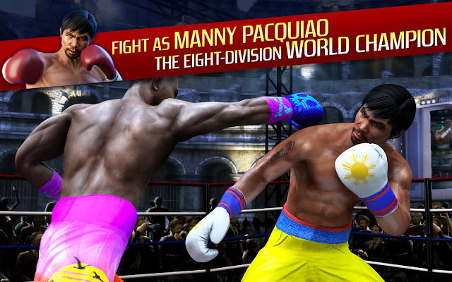 Real Boxing Manny Pacquiao MOD APK unlimited money
