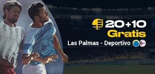 bwin promocion Las Palmas vs Deportivo 13-10-2019