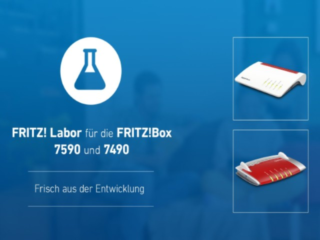 FritzOS 7.19: FritzBox 7590 and 7490 Receive A New Laboratory Updates