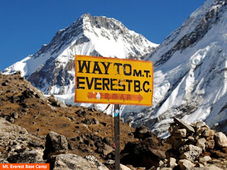 Cover Photo: Mt. Everest Base Camp