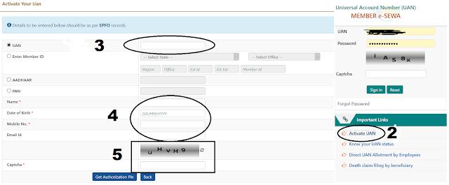 How To Activate UAN, How To Activate UAN - Hinditechknow Hindi,यूएएन नंबर एक्टिवेट कैसे करें ?