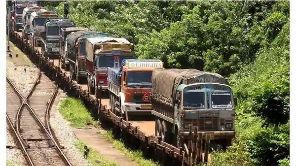 भारतीय रेलवे की आरओ-आरओ (RO-RO) सर्विस