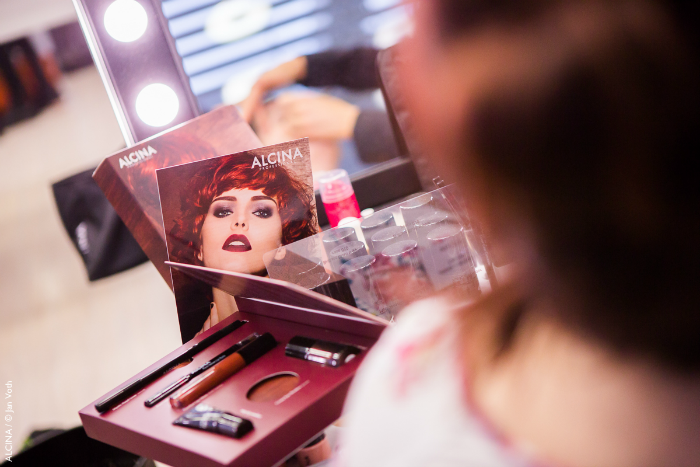 ALCINA Makeup Beauty Event - Fabulous Hot Look