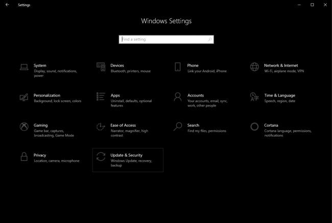 استعادة الملفات المحذوفة Windows 10 1