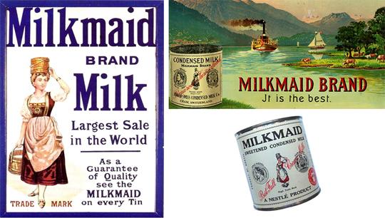 Leite Moça - MilkMaid: A versão americana do nome