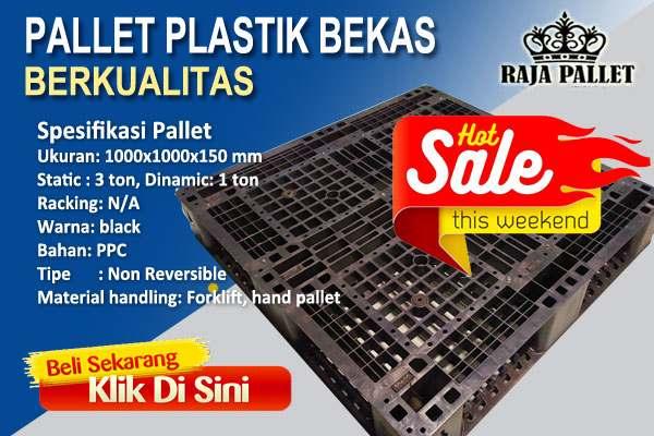 pallet plastik baru murah