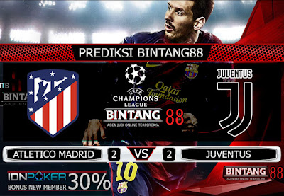 PREDIKSI SKOR ATLETICO MADRID VS JUVENTUS 19 SEPTEMBER 2019