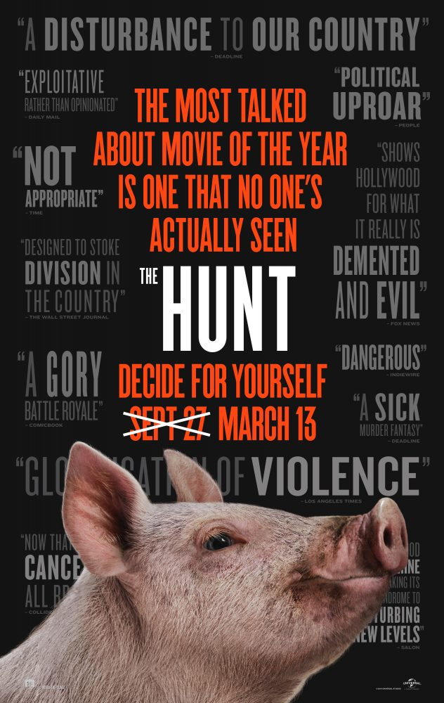 Poster - The Hunt (2020)