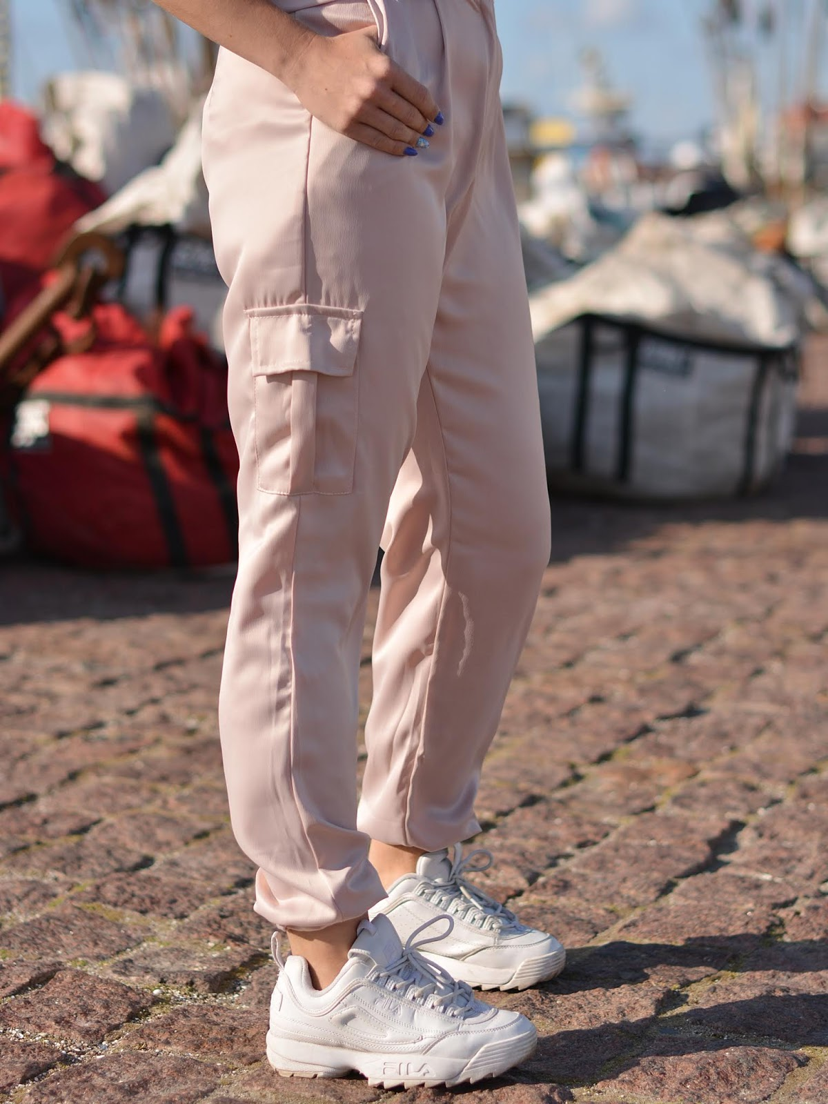 Rose Cargo Trousers
