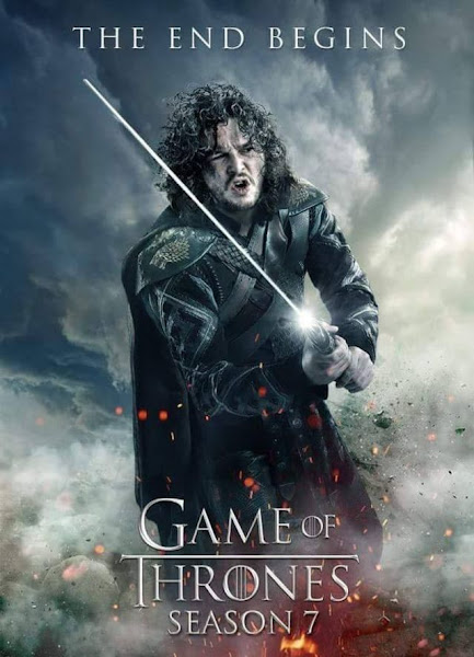 Poster of Game of Thrones Season 7-Episode-7-HDRip-720p With ESubs Download