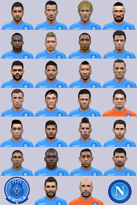 PES 2016 Facepack Forza Napoli by G-STYLE