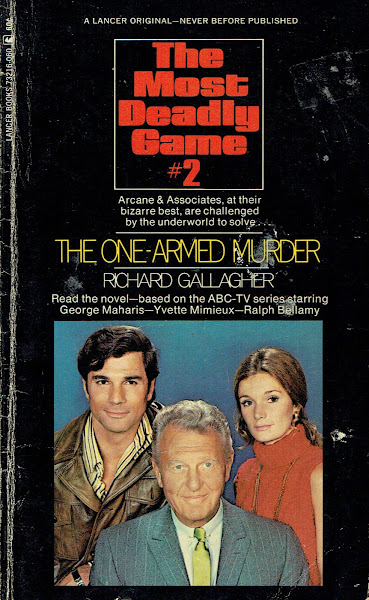 The Most Deadly Game Novelization No. 2