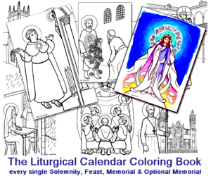 The Liturgical Calendar Coloring Book