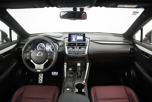 Lexus NX 200t F-Sport 2017 - interior