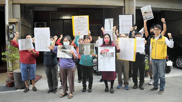 彰化建案鄰損戶民怨四起 吳韋達為居民發聲