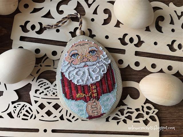вышивка яйцо пасхальное Яна Горкальцева