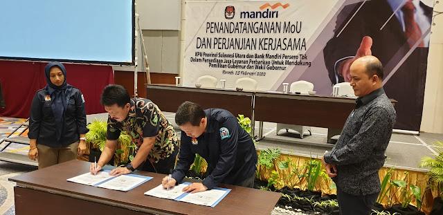 KPU Sulut Jalin Kerjasama Dengan Perbankan