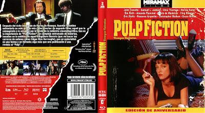 Carátula Bluray: Pulp Fiction (1994)