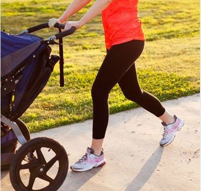 How to Use Stroller to Help Lose Baby Weight : WikiHealthBlog