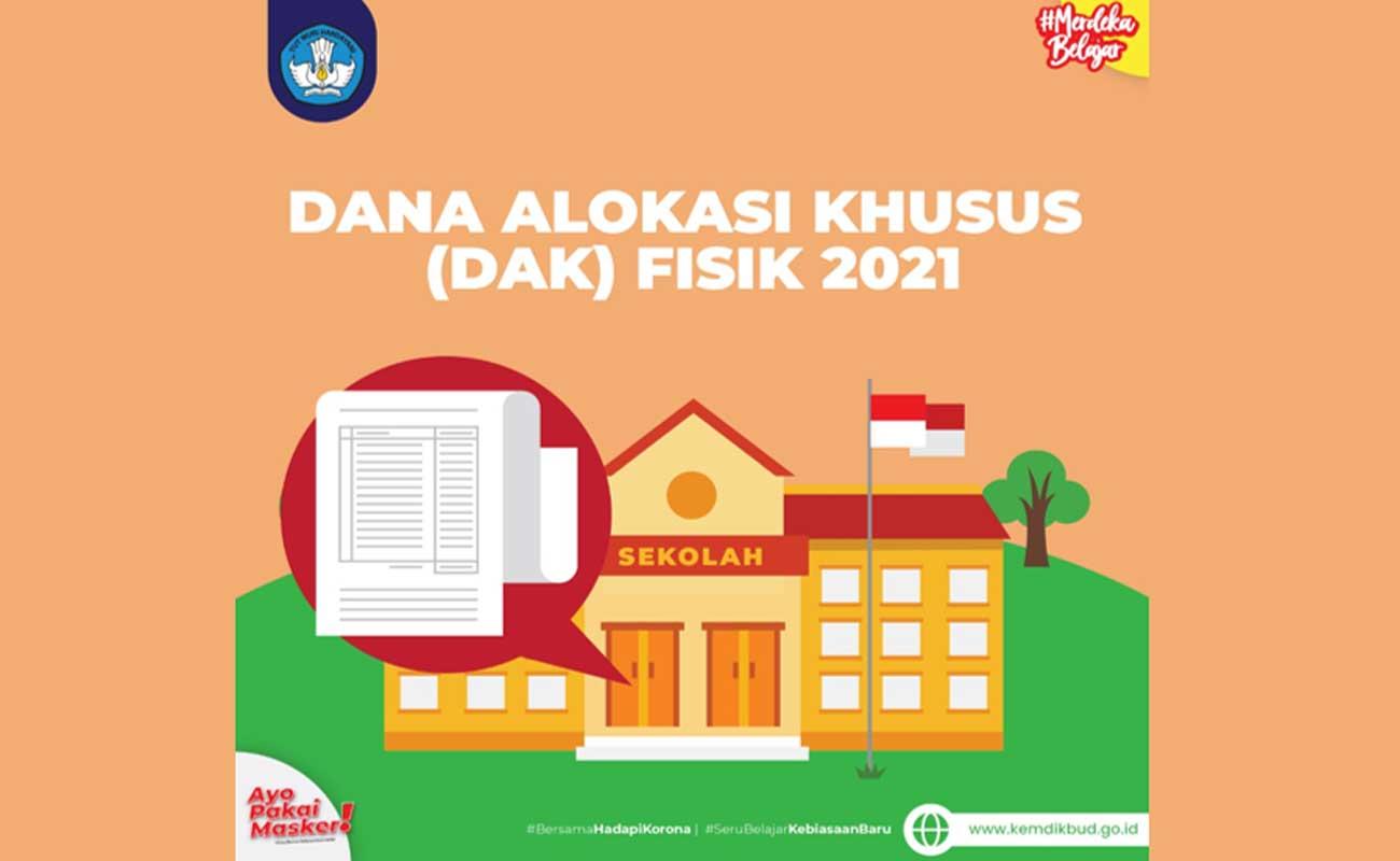 Petunjuk Operasional Dana Alokasi Khusus Fisik Reguler 2021