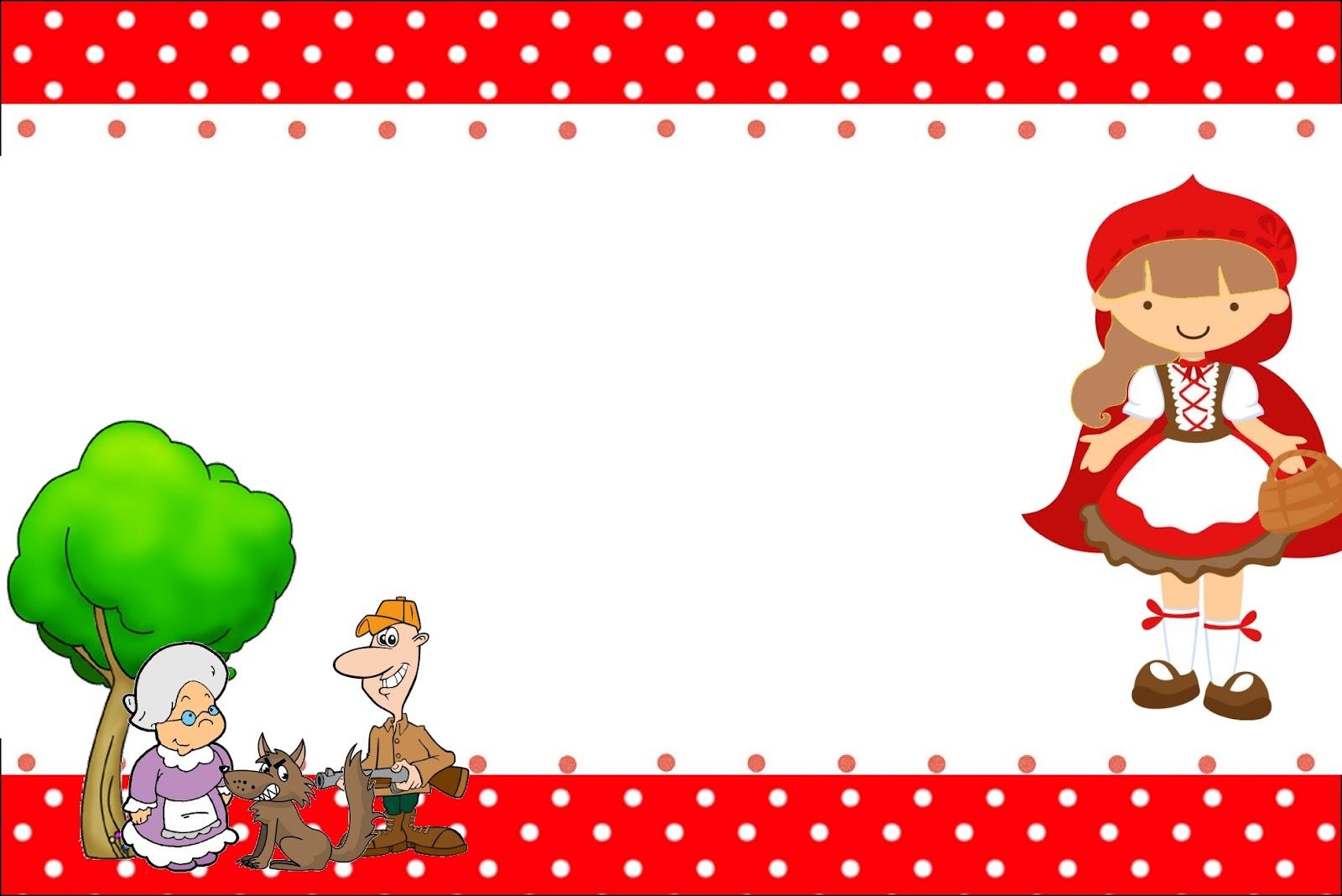 Imprimibles De Caperucita Roja Morena 8 Ideas Y Material
