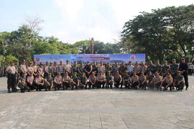 H-2 Pelantikan Presiden dan Wapres RI, TNI Polri di Bone Lakukan Ini
